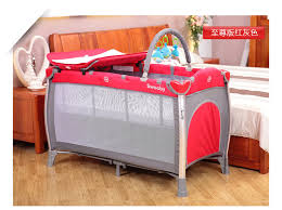 Baby Cribs Baby Double Layer Bed Children s Bed Cots Portable Crib
