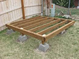 Floor Joist Span Table For Sheds by Build A Simple Shed A Complete Guide 32 Steps With Pictures