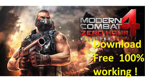 how to modern combat 4 for free android 2017