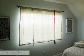 Fabric For Curtains Diy by Diy No Sew Tie Up Curtains
