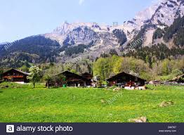 100 Log Cabins Switzerland Cabins In Stock Photo 55469743 Alamy