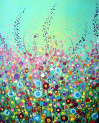 Inspiration For The Spring Painting Class On March 2016 At Palatine Library