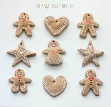 Christmas Tree Toppers Uk by Gingerbread Clay Recipe For Ornaments The Imagination Tree