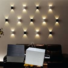 home theater wall sconces lighting led square l porch