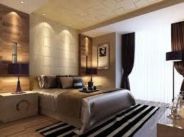feng shui schlafzimmer in weiß und braun großes bett