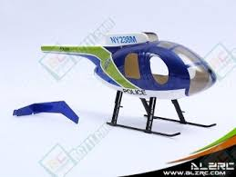 ALZRC 250 MD500E Scale Fuselage B for ALZRC T Rex 250 BUY NOW