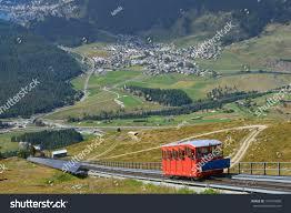 100 Muottas Muragl Funicular Engadine Stock Photo Edit Now 161841890