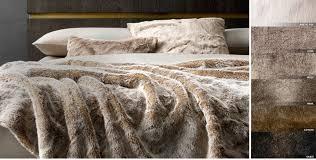 Faux Fur Bedding King Size 3901