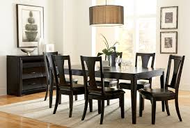 grayson table and 4 side chairs merlot levin furniture