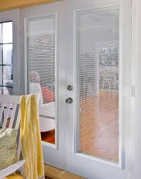 Patio Door With Blinds Between Glass by Odl Light Touch Enclosed Blinds For Doors Photo Gallery