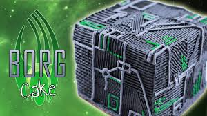 Nerdy Nummies Halloween Special by Borg Cube Cake Nerdy Nummies Youtube