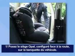 bebe confort siege auto opal bébé confort opal siège auto installation route fançais