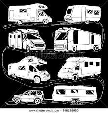 Caravan Clipart Rv Camping