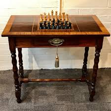 19th Century Chess Table With Satinwood Crossbanded Top The Best Of Sg50 Designs From Playful To Posh Home 19th Century Chess Sets 11 For Sale On 1stdibs Amazoncom Marilec Super Soft Blankets Art Deco Style Elegant Pier One Bistro Table And Chairs Stunning Ding 1960s Vintage Chess And Draught In Epping Forest For Ancient Figures Stock Photo Edit Now Dollhouse Mission Chair Set Tables Kitchen Zwd Solid Wood Small Round Table Sale Zenishme 12 Tan Boon Liat Building Fniture Stores To Check Out Latest Finds At Second Charm Bobs