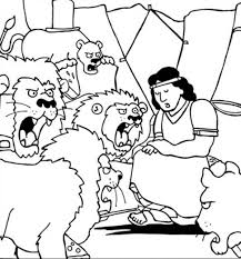 Innovation Ideas Daniel And The Lions Den Coloring Page Thrown Into In