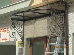 Awning With Wrought Iron Elements And Polycarbonate Surface ... High End Projects Specialty Restorations Jnl Wrought Iron Awnings The House Of Canvas Exterior Design Gorgeous Retractable Awning For Your Deck And Carports Steel Metal Garages Barns Front Doors Homes Home Ideas Back Canopies Obrien Ornamental Wrought Iron And Glass Awning Several Broken Blog Balusters Railing S Autumnwoodcstructionus Iron And Glass Awning Googleda Ara Tent Pinterest Bromame Company Residential Commercial Lexan Door Full Image Custom Built