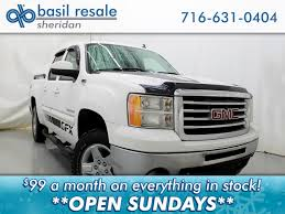Pre-Owned 2011 GMC Sierra 1500 SLE Crew Cab Pickup In Williamsville ... Gmc Introduces New Offroad Subbrand With 2019 Sierra At4 The Drive Should You Lease Your Truck Edmunds 2018 1500 Reviews And Rating Motortrend Seattle Dealer Inventory Bellevue Wa Central Buick Is A Winter Haven New Car All Chevy Cadillac Inventory Near Burlington Vt Car Patrick Used Cars Trucks Suvs Rochester Autonation Park Meadows Dealership Me A Chaing Of The Pickup Truck Guard Its Ford Ram For Ellis Chevrolet In Malone Ny Serving Plattsburgh North Certified Preowned 2017 Base 2d Standard Cab Specials Quirk