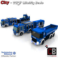 CUSTOMBRICKS.de - LEGO Custom Moc City THW Model Bauanleitung ... Lego Pickup Tow Truck Itructions Best 2018 Quad Lego Delivery 3221 City Fire Station Moc Boxtoyco Chevrolet Apache Building Itructions Httpwww Asia Train Amp Signal Box Police Motorbike 2014 60056 Youtube Custom Fedex Truck Building This Cargo Bundle 3 With 7 Custom Designs Lions Prisoner Transporter 60043 4431 Ambulance Complete Minifig