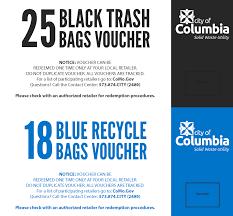Bag Voucher Program - City Of Columbia Utilities