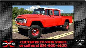 100 4x4 Trucks For Sale In Oklahoma 1967 Ternational Harvester Travelette Cummins Powered