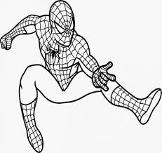 Spiderman Coloring Pages Free Sheets