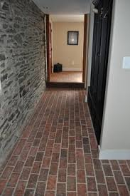 wimer s mill brick tile floor there is heavy white clay