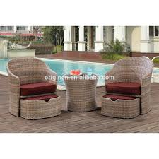 Half Circle Outdoor Furniture by Patio Chair With Hidden Ottoman Home Outdoor Decoration