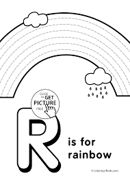 Letter R Coloring Pages Alphabet Words For Kids