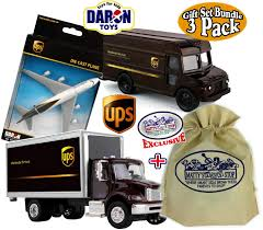 Buy UPS-United Parcel Service Pull Back Action Messenger Package ...