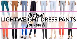 The Best Lightweight Summer Dress Pants For Women