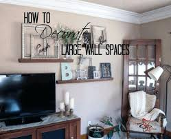 Giant Wall Decor Decorate A Large Home Design Lovely Ideas For Decorating In Living Room Above Couch