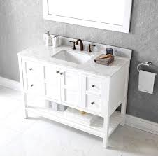 lush white bathroom vanity with marble top ideas lack marble top