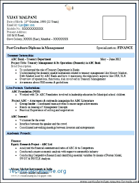 Diploma Resume Format For Mechanical Engineer Experienced