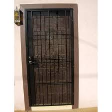 Handyman Hookup Metal security doors installed with a deadbolt