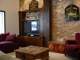 Furniture Tv Lift Cabinet Mechanism With Wooden Storage Cd Player Interior Designs Charming Photo Vintage Rustic