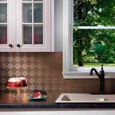 Fasade Decorative Thermoplastic Panels Home Depot by Fasade 24 In X 18 In Hammered Pvc Decorative Backsplash Panel In