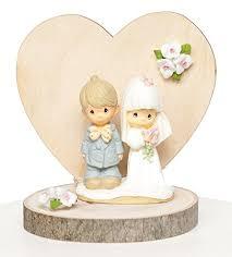 Precious Moments Rustic Wedding Cake Topper