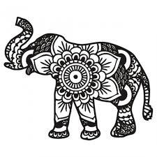 Mandala Elephant Coloring Pages 3g89mnj2