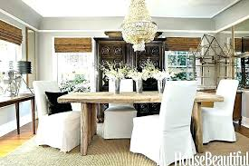 Dining Room Tables Rustic Chic Table Decor For