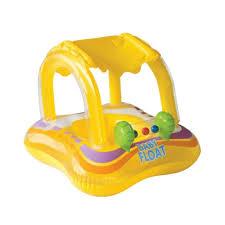 bouée siège bébé piscine bouee gonflable siege bebe 81x66cm ca12 ref 56581np
