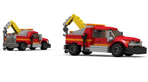 100 Lego City Tow Truck 60056
