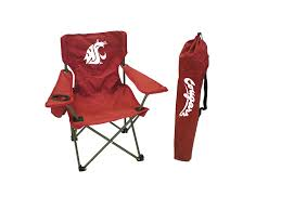100 Folding Chair With Carrying Case Amazoncom Rivalry NCAA Washington State Cougars Youth