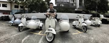 Travel In Style Exploring Singapore On A Vintage Vespa