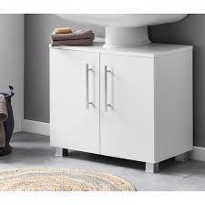 waschbeckenunterschrank 60 cm weiß matt