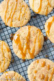 Pumpkin Spice Pudding Snickerdoodles by Brown Butter Pumpkin Snickerdoodles With Caramel Drizzle