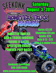 100 Monster Truck Show Mid Summer Thrill Bash Seekonk Speedway