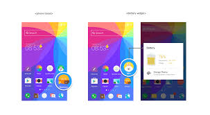 LINE】Android Smartphone Home Screen Customization Tool