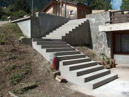 comment faire un escalier exterieur en beton de