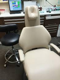 Marus Dental Chair Upholstery by Pelton Crane Chairman 5000 Series Miller Upholstery