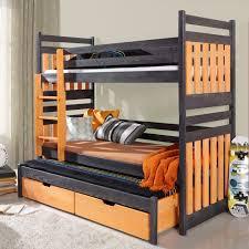 lit enfant superposé sambor avec lit gigogne 3 couchages www